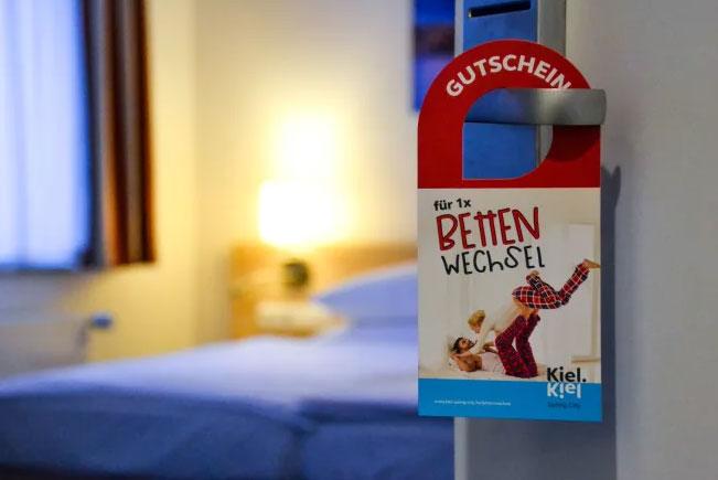 """Kiel: Jetzt auch zum Verschenken – Übernachtungsaktion """"Bettenwechsel"""""""