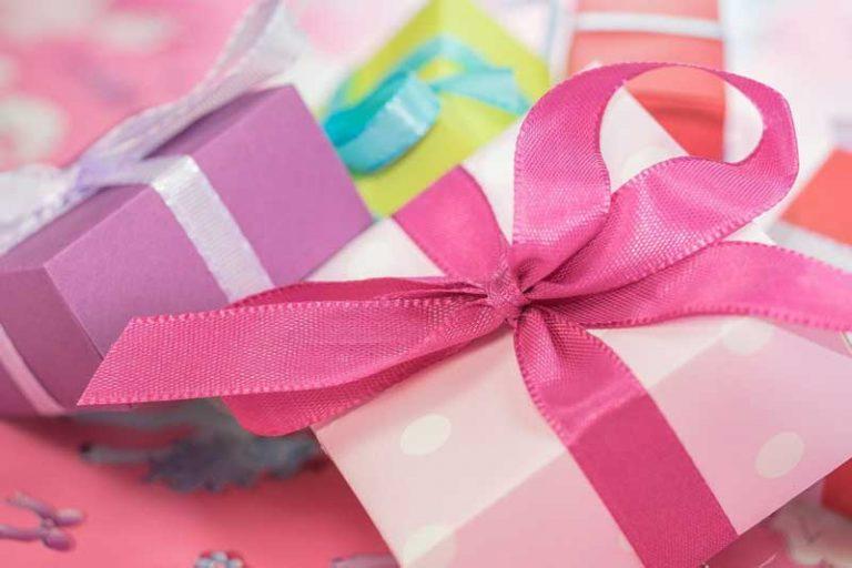Geschenke als kleine Freudenbringer