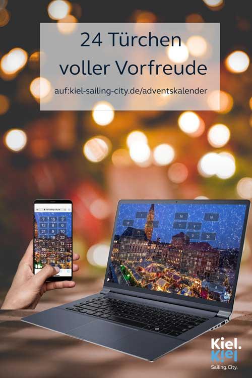 Neues System für den Online-Adventskalender von Kiel.Sailing.City