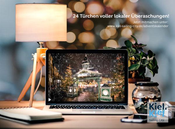 Kiel.Sailing.City Online-Adventskalender mit Gewinnen lokaler Partner