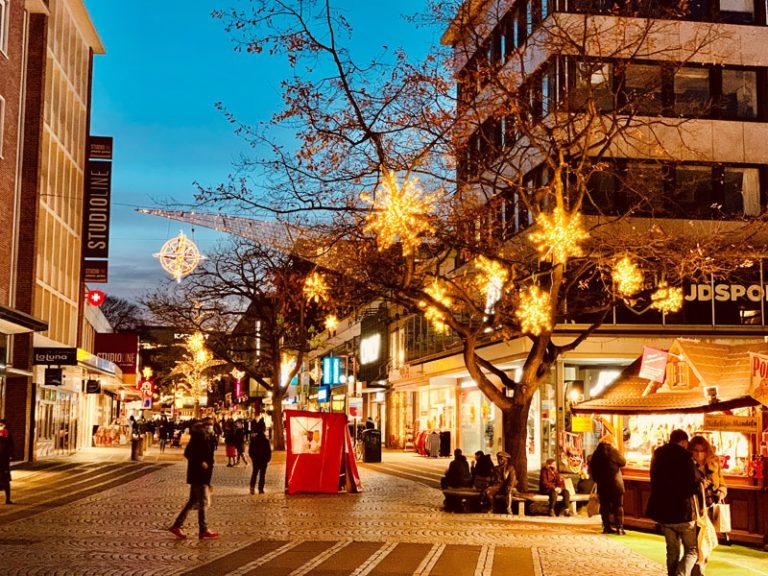 Kiel ohne Weihnachtsmarkt: 80 Prozent weniger Besucher in der Innenstadt